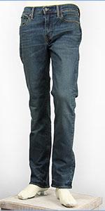 リーバイス 511 フィット スリム サーモライト ストレッチデニム ダークユーズド Levi's Warm Jeans 04511-2067