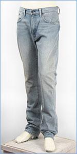 リーバイス 505C カスタマイズド フィット スリムストレート ストレッチデニム ライトユーズド Levi's Jeans 28427-0011