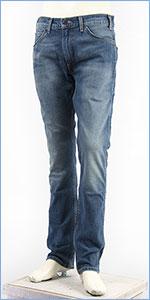 リーバイス 505C オレンジタブ スリムストレート デニム(綿100%) ミッドユーズド Levi's Orange Tab Jeans 29998-0003