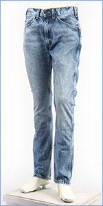 リーバイス 505C オレンジタブ スリムストレート デニム(綿100%) ライトユーズド Levi's Orange Tab Jeans 29998-0005