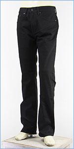 リーバイス 505 レギュラー フィット ストレート ウォーム パフォーマンスツイル ブラック Levi's Warm Jeans 00505-1345