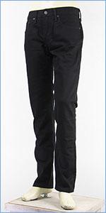 リーバイス 511 スリム フィット ウォーム パフォーマンスツイル ブラック Levi's Warm Jeans 04511-1823