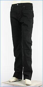リーバイス 513 スリムストレート ストレッチ ジーンズ ブラック Levi's Jeans 08513-0207