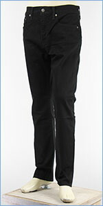 リーバイス 502 レギュラーテーパード ストレッチ ジーンズ ブラック Levi's Jeans 29507-0031