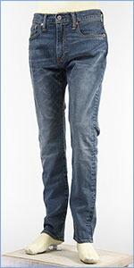 リーバイス 502 レギュラーテーパード ストレッチ ジーンズ ミッドユーズド Levi's Jeans 29507-0063