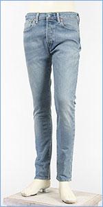 リーバイス 501 スキニー ボタンフライ ストレッチデニム ライトユーズド Levi's 501 Jeans 34268-0025