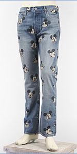 リーバイス ミッキーマウス 501 ボタンフライ コーンデニム LEVI'S x Disney COLLECTION MICKEY MOUSE PREMIUM 501 00501-2708