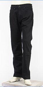 リーバイス 505 レギュラー フィット ストレッチデニム ブラック Levi's 505 Jeans 00505-1469
