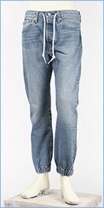 リーバイス 501 ジョガー ボタンフライ ストレッチデニム LEVI'S PREMIUM 501 JOGGERS 80746-0000