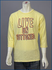 リーバイス・クラシック Q/S グラフィック ラグラン Tシャツ / LIVE UNBUTTONED ( Levi's Original 80907-0002 )