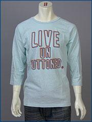 リーバイス・クラシック Q/S グラフィック ラグラン Tシャツ / LIVE UNBUTTONED ( Levi's Original 80907-0003 )
