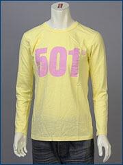 リーバイス・クラシック L/S キャンペーン Tシャツ / 501 LIVE UNBUTTONED ( Levi's Original 80913-0004 )