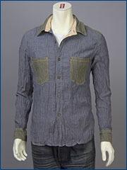 リーバイス・LX L/S シャンブレー ワークシャツ / ダンガリー ( Levi's Original Shirt 60705-0001 )