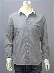 リーバイス・プレミアム 長袖 クレリック シャツ / ブロード ( Levi's PReMIUM Shirt 60102-0004 )