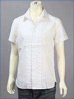 リーバイス・プレミアム 半袖 プリーテッド レギュラーシャツ / ブロードクロス ( Levi's Premium Shirt 62105-0002 )