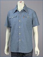 リーバイス・オレンジタブ バットウィングフラップシャツ / シャンブレー ( Levi's Original Shirt 62600-0001 )