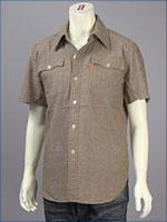 リーバイス・オレンジタブ バットウィングフラップシャツ / シャンブレー ( Levi's Original Shirt 62600-0002 )