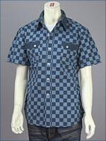 リーバイス・ビンテージクロージング : ロデオチェック・カスタマイズドシャツ / ポプリン ( LEVI'S VINTAGE CLOTHING 62707-0001 )