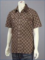 リーバイス・ビンテージクロージング : ロデオチェック・カスタマイズドシャツ / ポプリン ( LEVI'S VINTAGE CLOTHING 62707-0002 )