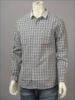 リーバイス・プレミアム 長袖 クレリックシャツ / ポプリン ( Levi's Premium Shirt 60107-0008 )