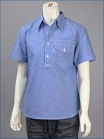 リーバイス・オリジナル 半袖 プルオーバーシャツ / オックスフォード ( Levi's Original Shirt 62661-0019 )