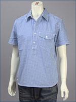 リーバイス・オリジナル 半袖 プルオーバーシャツ / オックスフォード ( Levi's Original Shirt 62661-0020 )