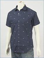 リーバイス・プレミアム 半袖・エンブロイダリー・シャツ ( Levi's Premium Shirt 62655-0002 )