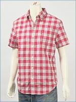 リーバイス・オリジナル 半袖・ボタンダウンチェックシャツ / ダブルクロス ( Levi's Original Shirt 62618-0002 )