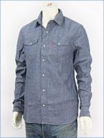 リーバイス・レッドタブ 長袖・シャンブレー・ウェスタンシャツ / リンス ( Levi's Red Tab Shirt 61313-0005 )
