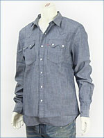 リーバイス・レッドタブ / 長袖・ソートゥース・ウェスタンシャツ / シャンブレー ( Levi's Red Tab Shirt 64308-0003 )