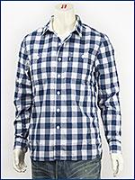 リーバイス Levi's ストック ワークシャツ ホールコムプラッド ディープロイヤル Levi's Red Tab Shirt 65822-0001 長袖