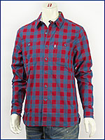 リーバイス Levi's ストック ワークシャツ カリソンプラッド クリムソン Levi's Red Tab Shirt 65822-0002 長袖