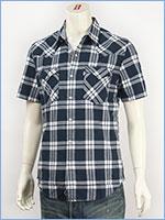 リーバイス 半袖 バーストゥー ウェスタンシャツ チェック Levi's Red Tab Shirt 65817-0023