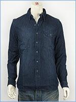 リーバイス ユニオンシャツ ヘリンボーン インディゴデニム Levi's Shirt 66536-0003 長袖