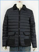 リーバイス キルティング ライトダウンジャケット ダウン70%・フェザー30% ブラック Levi's Quiting Light Down Jacket 71977-0001