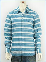 リーバイス ワンポケット ワークシャツ ボーダー Levi's Shirt 65820-0045 長袖