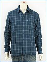 リーバイス ワンポケット ワークシャツ インディゴチェック 長袖 Levi's Shirt 65820-0046