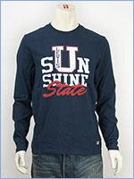 リーバイス Levi's 長袖 グラフィック Tシャツ サンシャインドレスブルー Levi's Knit 66066-0120