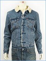 リーバイス シェルパトラッカージャケット シュランクン(ミッドユーズド) Levi's Jacket 16365-0007