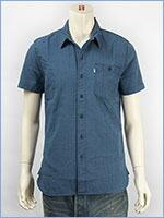 リーバイス 半袖 ユーティリティーシャツ インディゴドビー Levi's S/S Shirt 17257-0006
