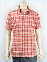 リーバイス 半袖 ユーティリティーシャツ レッドチェック Levi's S/S Shirt 17257-0010