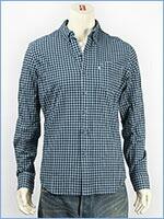 リーバイス クラシック ワンポケットシャツ モックブルーギンガム Levi's Shirt 65824-0139 長袖