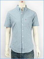リーバイス 半袖 クラシック ワンポケットシャツ シャンブレーモックブルー Levi's S/S Shirt 65826-0060