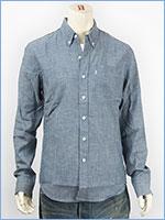 リーバイス クラシック ワンポケットシャツ シャンブレー インディゴ Levi's Shirt 19586-0013 長袖