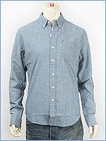リーバイス クラシック ワンポケットシャツ シャンブレー ライトインディゴ Levi's Shirt 19586-0014 長袖