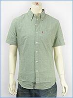 リーバイス 半袖 クラシック ワンポケットシャツ シャンブレードライドリーフ Levi's S/S Shirt 65826-0057