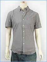 リーバイス 半袖 クラシック ワンポケットシャツ シャンブレーダークガルグレー Levi's S/S Shirt 65826-0058