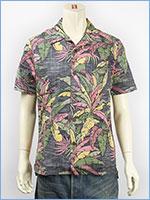 リーバイス ハワイアンシャツ 裏プリント使い マルチカラー Levi's Shirt 21975-0003 半袖