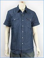 リーバイス クラシック ウェスタンシャツ 6.8oz.デニム サマーウォッシュミディアムブルー Levi's Shirt 21978-0006