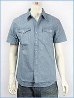 リーバイス クラシック ウェスタンシャツ 6.8oz.デニム サマーウォッシュライトブルー Levi's Shirt 21978-0007